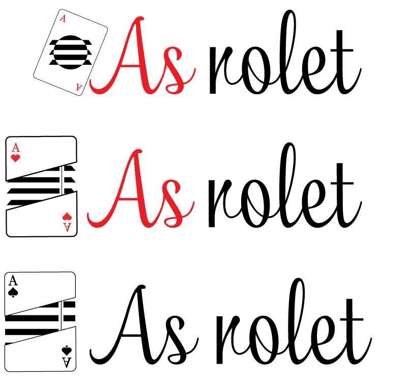 Projekty loga As Rolet